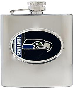 NFL Seattle Seahawks 6oz Stainless Steel Flask