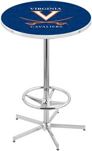 University of Virginia Chrome Pub Table