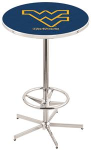West Virginia University Chrome Pub Table