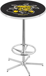 Wichita State University Chrome Pub Table