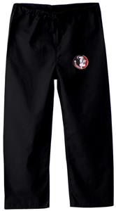 Florida State Univ Kid's Black Scrub Pants