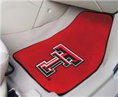 Fan Mats Texas Tech Univ Carpet Car Mats (set)