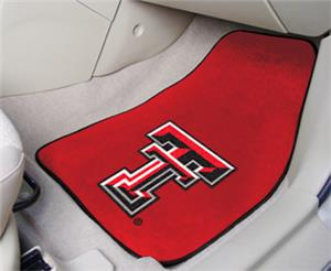 Fan Mats Texas Tech University Carpet Car Mats