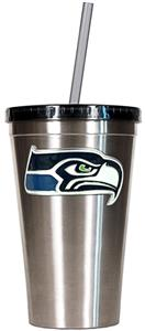 NFL Seattle Seahawks 16oz Tumbler with Straw
