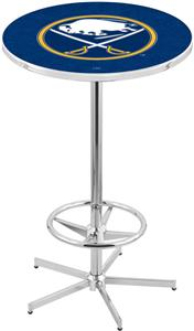 Buffalo Sabres NHL Chrome Pub Table