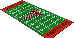 Fan Mats Texas Tech University Football Runner