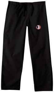 Florida State Univ Black Classic Scrub Pants
