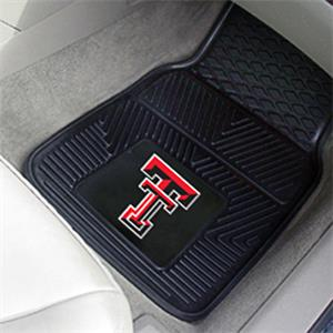 Fan Mats Texas Tech Univ Vinyl Car Mats (set)