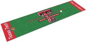 Fan Mats Texas Tech University Putting Green Mat