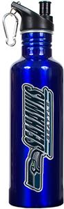 NFL Seattle Seahawks Blue Stainless Water Bottle