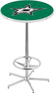 Dallas Stars NHL Chrome Pub Table