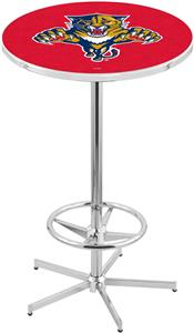 Florida Panthers NHL Chrome Pub Table