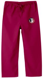 Florida State Univ Kid's Crimson Scrub Pants