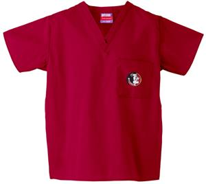 Florida State Univ Crimson Classic Scrub Tops