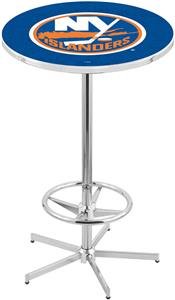 New York Islanders NHL Chrome Pub Table