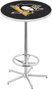 Pittsburgh Penguins NHL Chrome Pub Table