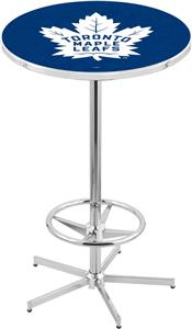 Toronto Maple Leafs NHL Chrome Pub Table