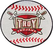 Fan Mats Troy University Baseball Mat
