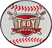 Fan Mats Troy University Baseball Mat
