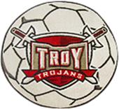 Fan Mats Troy University Soccer Ball Mat