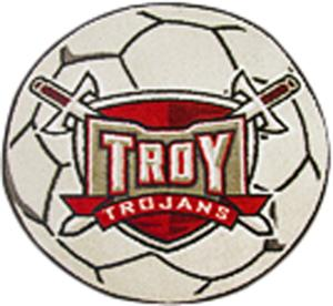 Fan Mats Troy University Soccer Ball Mat