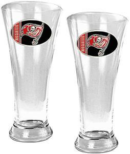 NFL Tampa Bay Buccaneers 2 Piece Pilsner Glass Set