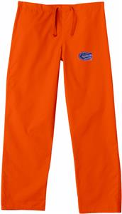 Univ of Florida Gators Orange Classic Scrub Pants