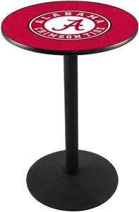 Univ of Alabama Script A Round Base Pub Table