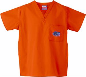 Univ of Florida Gators Orange Classic Scrub Tops