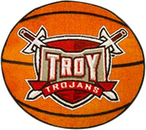 Fan Mats Troy University Basketball Mat