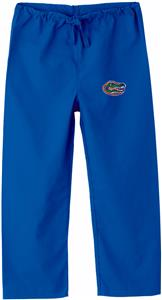 Univ of Florida Gators Kid's Royal Scrub Pants