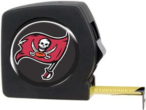 NFL Buccaneers 25' Tape Measure with Logo
