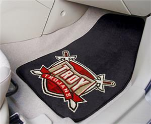 Fan Mats Troy University Carpet Car Mats