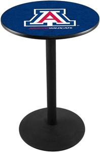 University of Arizona Round Base Pub Table