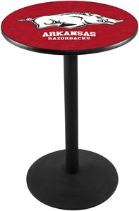 University of Arkansas Round Base Pub Table