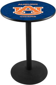 Auburn University Round Base Pub Table
