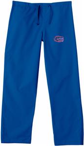 Univ of Florida Gators Royal Classic Scrub Pants