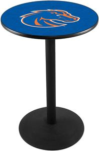 Boise State University Round Base Pub Table