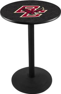 Boston College Round Base Pub Table