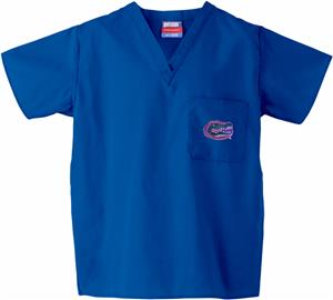 Univ of Florida Gators Royal Classic Scrub Tops