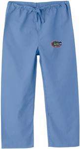 Univ of Florida Gators Kid's Sky Scrub Pants