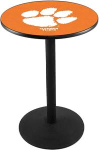 Holland Clemson Round Base Pub Table