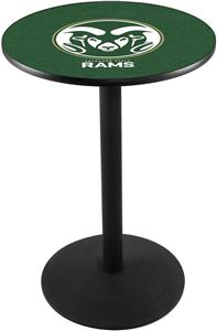 Colorado State University Round Base Pub Table