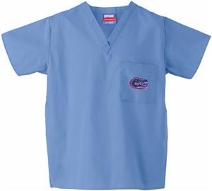 Univ of Florida Gators Sky Classic Scrub Tops