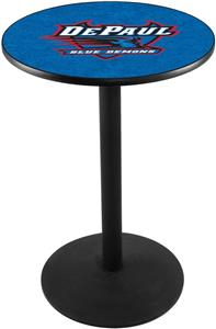 Holland DePaul University Round Base Pub Table