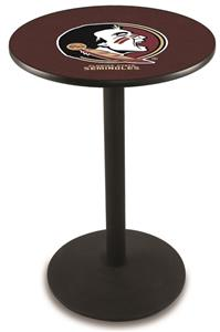 Florida State Head Round Base Pub Table
