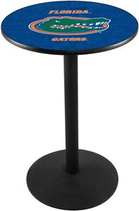 Holland University of Florida Round Base Pub Table