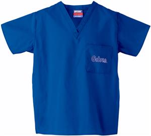 University of Florida Royal Classic Scrub Tops