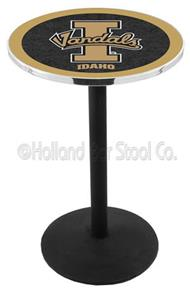 University of Idaho Round Base Pub Table
