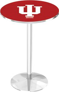 Indiana University Round Base Pub Table